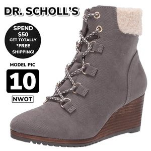 NWOT DR. SCHOLL'S Charmer Ankle Bootie (10)
